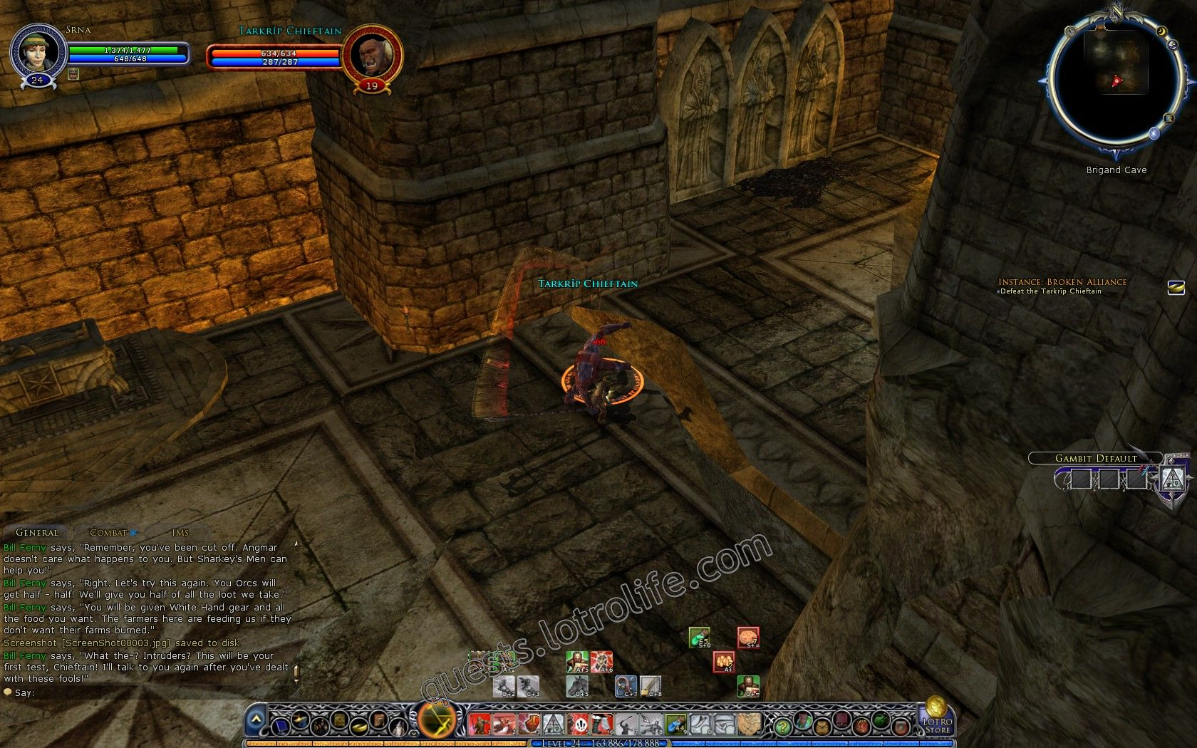 Quest: Instance: Broken Alliance, objective 1, step 1 image 1896 middle size