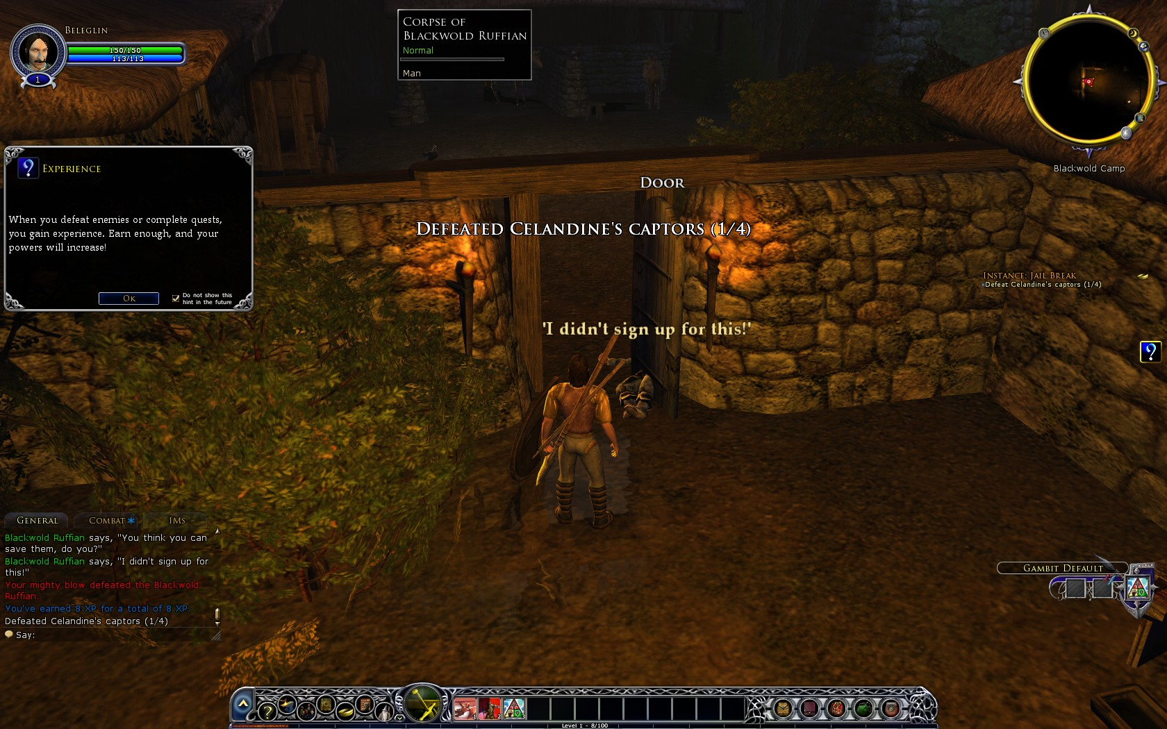 Quest: Instance: Jail Break, objective 3, step 1 image 6 middle size