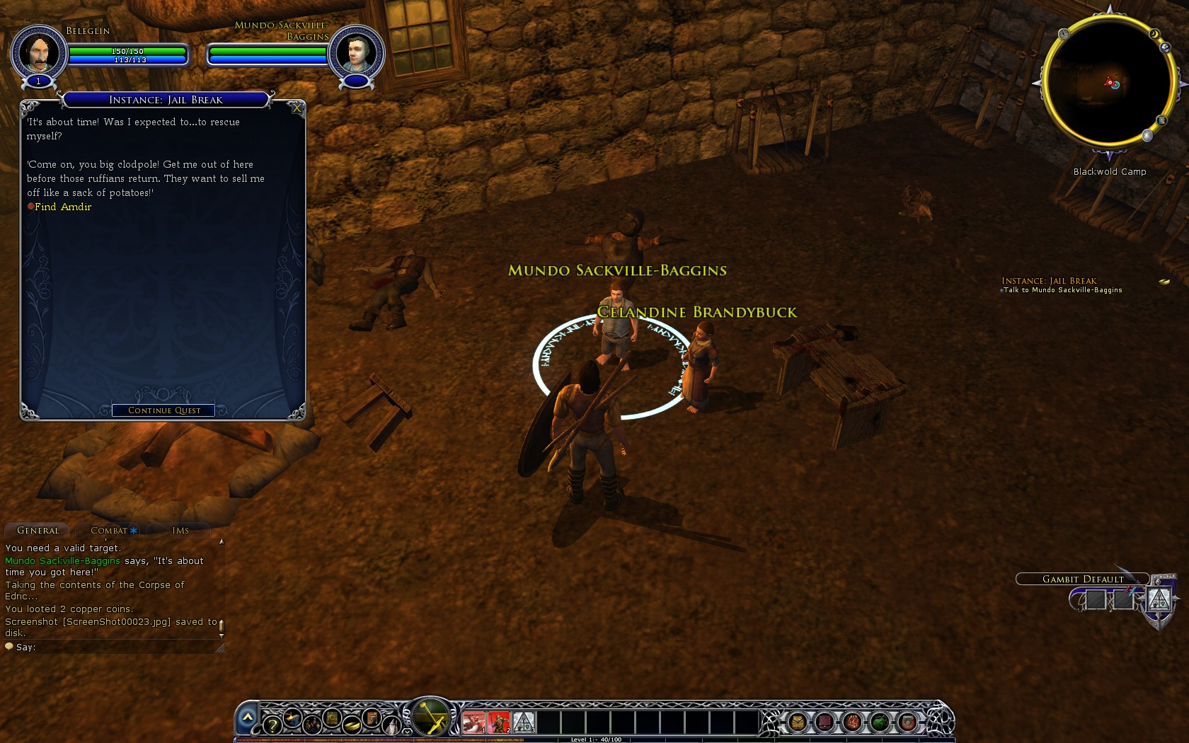 Quest: Instance: Jail Break, objective 6, step 1 image 9 middle size