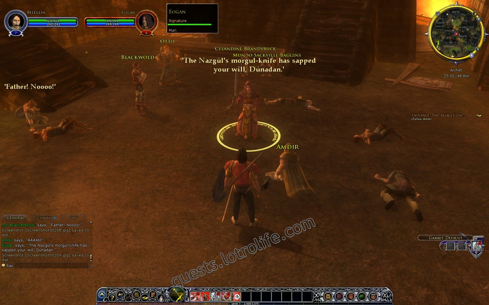 Quest: Instance: The Assault on Archet, objective 5, step 1 image 483 middle size