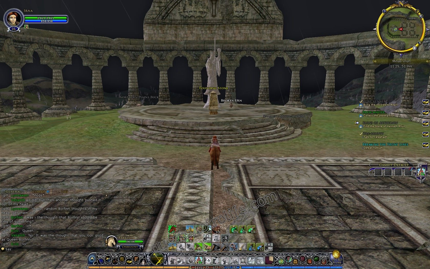 Quest: Ruins of Arthedain, objective 4, step 1 image 3211 middle size