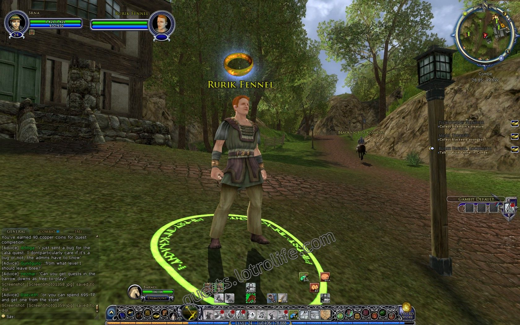 Quest: Rurik Fennel, Locksmith, objective 1, step 1 image 1826 middle size