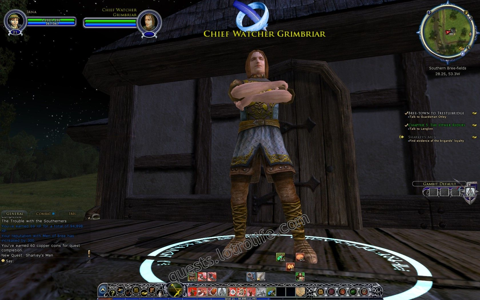 NPC: Chief Watcher Grimbriar (NPC) image 3 middle size