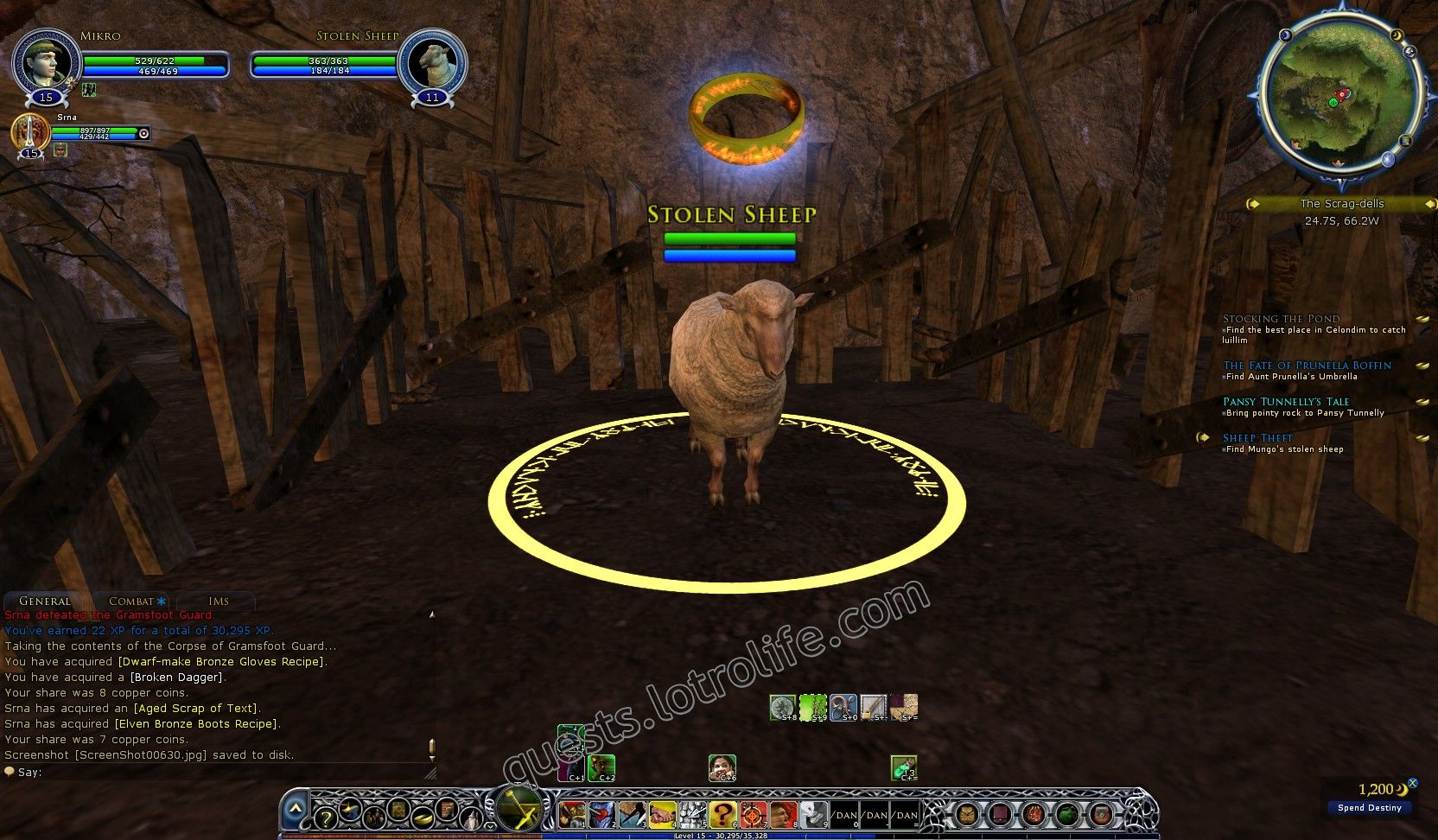 Quest: Sheep Theft, objective 1 image 644 middle size