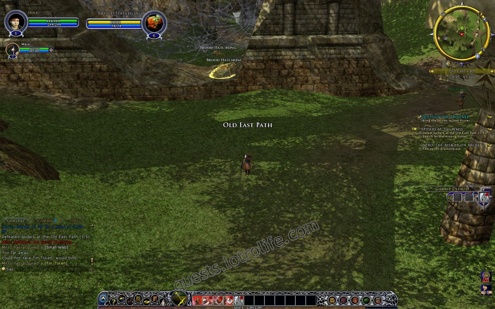 Quest: Spiders at the Walls, additional info image 145 middle size