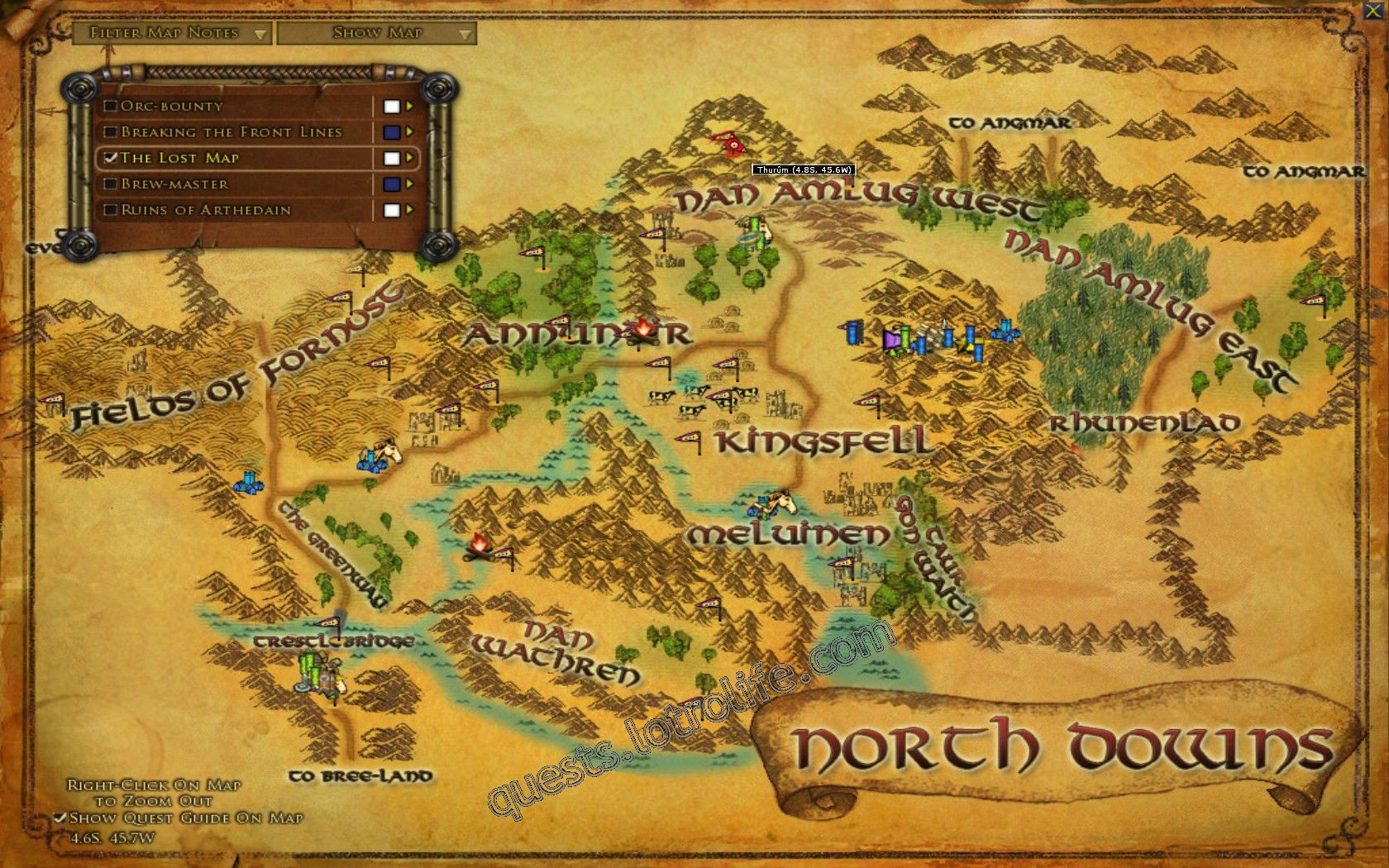 Quest: The Lost Map, objective 1 image 3218 middle size