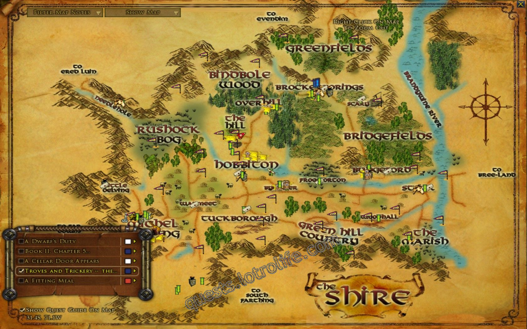 Quest: Troves and Trickery -- the Shire, objective 1 image 2245 middle size