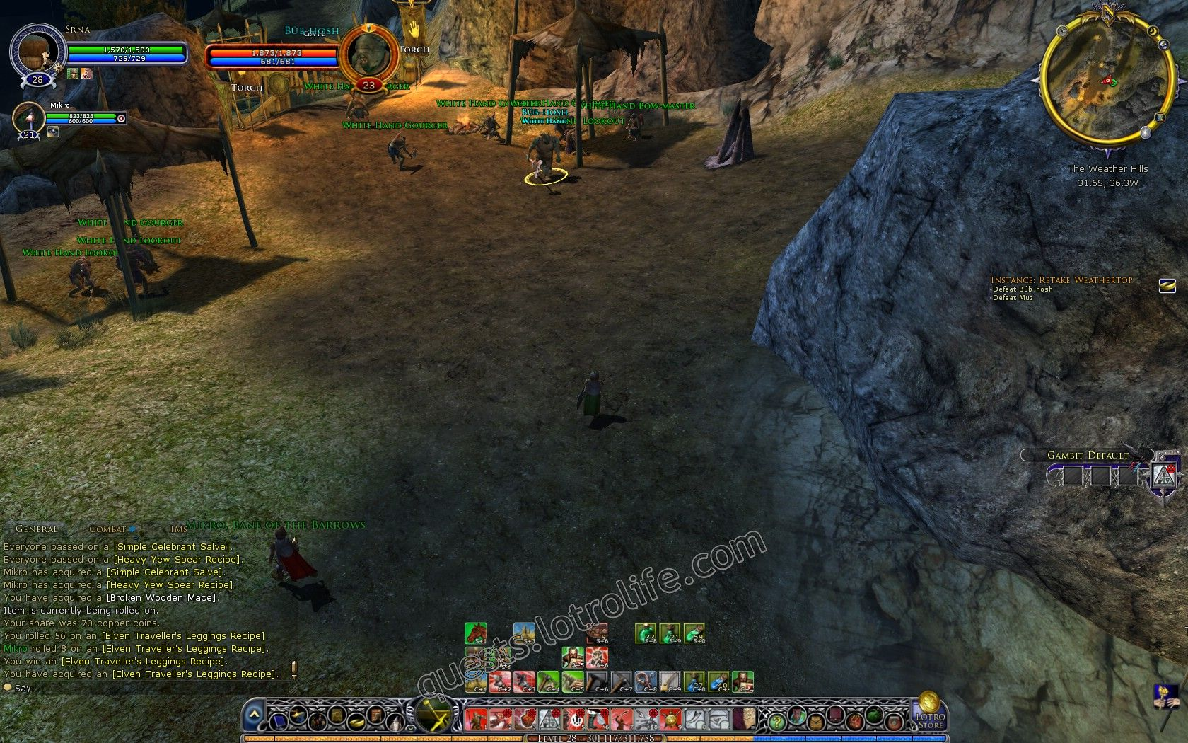 Quest: Vol. I, Book 2, Instance: Retake Weathertop, objective 3, step 1 image 2217 middle size