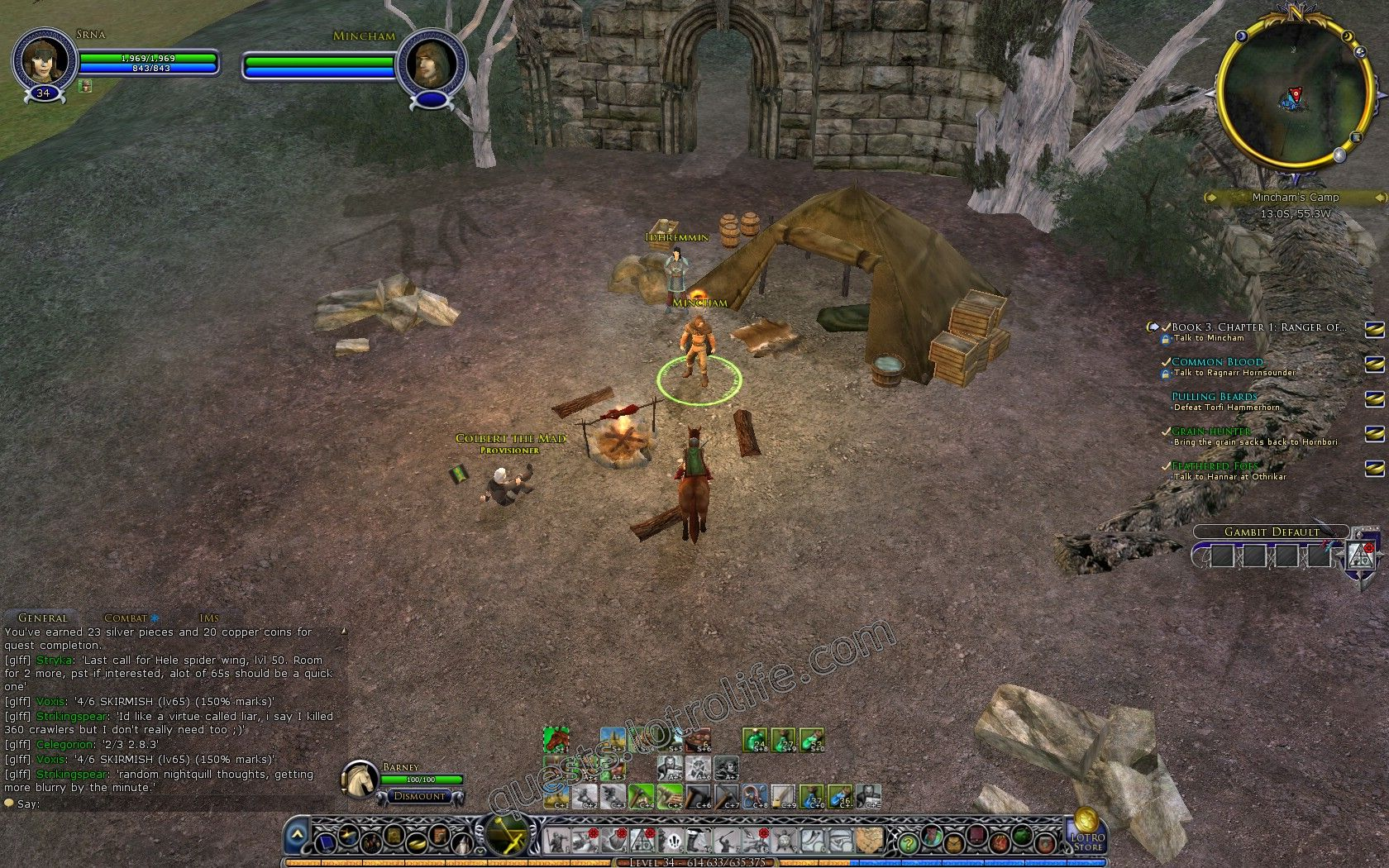 Quest: Vol. I, Book 3, Chapter 1: Ranger of the Fields, objective 1, step 1 image 3099 middle size