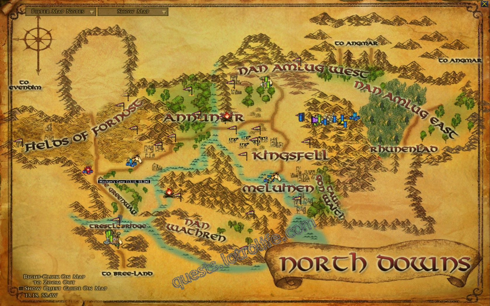 Quest: Vol. I, Book 3, Chapter 1: Ranger of the Fields, objective 1, step 1 image 3100 middle size