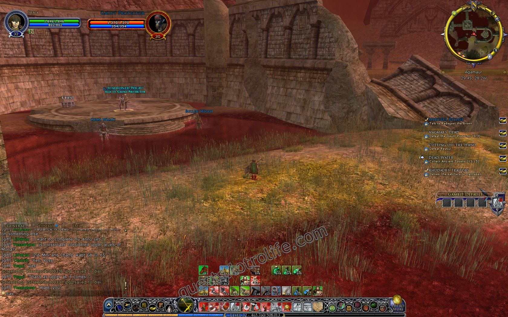Quest: Angmar's Dead, objective 1, step 1 image 2726 middle size