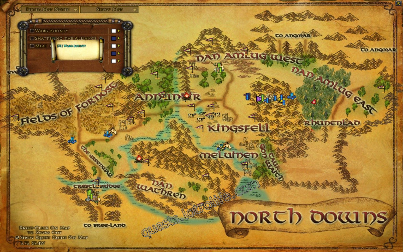 Quest: Warg-bounty, objective 1, step 1 image 3223 middle size