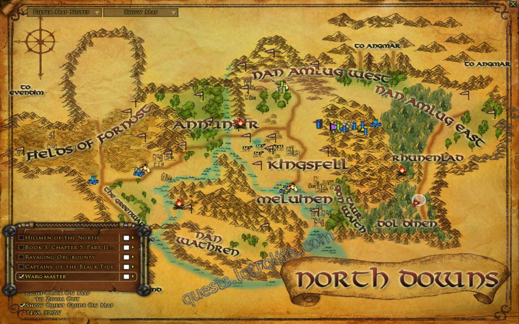 Quest: Warg-master, objective 1, step 1 image 3317 middle size