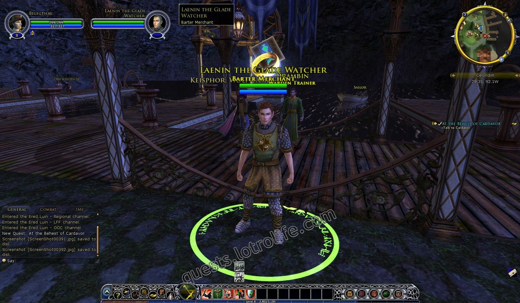 NPC: Laenin the Glade Watcher (NPC) image 2 middle size