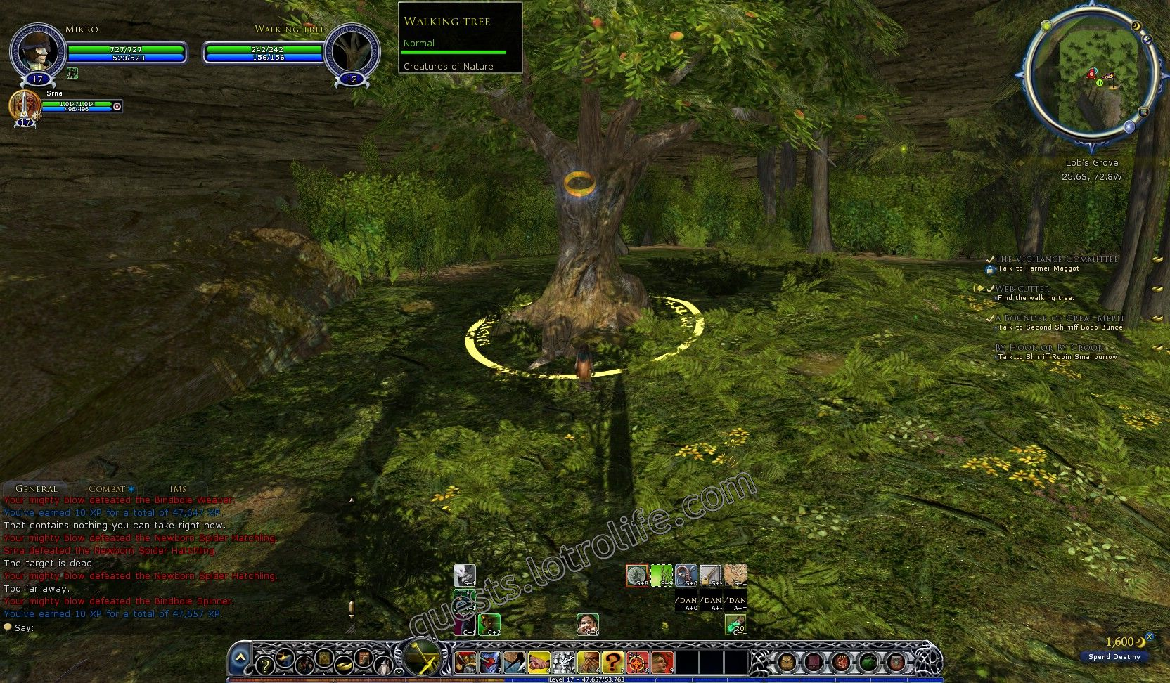 NPC: Walking-tree (Huorn) image 1 middle size