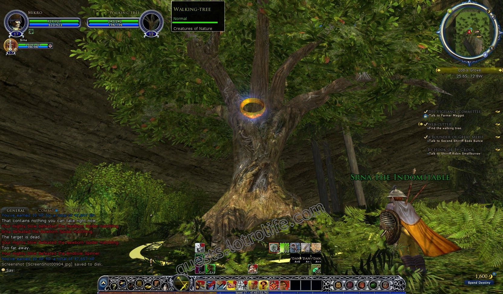 NPC: Walking-tree (Huorn) image 2 middle size