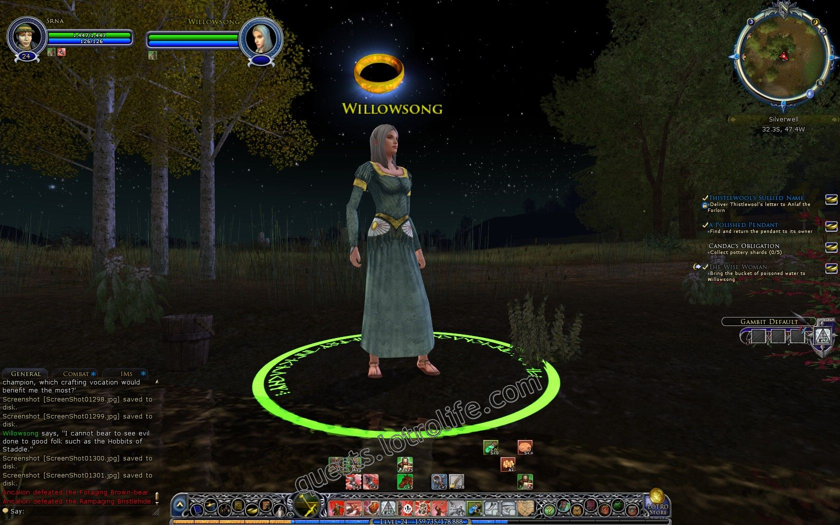 NPC: Willowsong (NPC) image 1 middle size